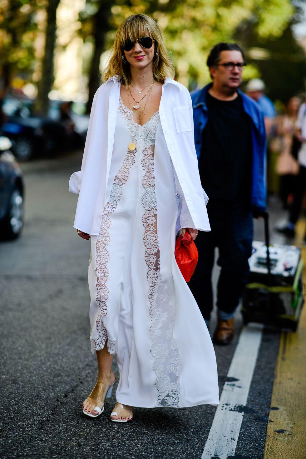 street style tuần lễ thời trang milan màu trung tính 5
