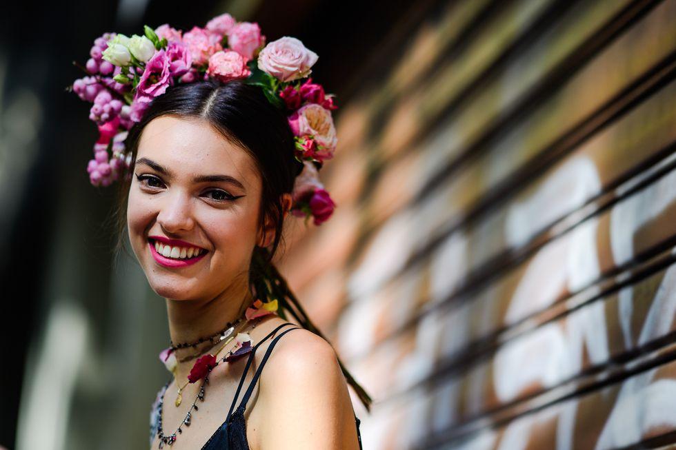street style tuần lễ thời trang Milan phụ kiện 13