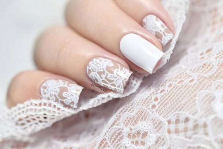 Mê mẫn với 10 kiểu móng tay đẹp cho ngày cưới 05