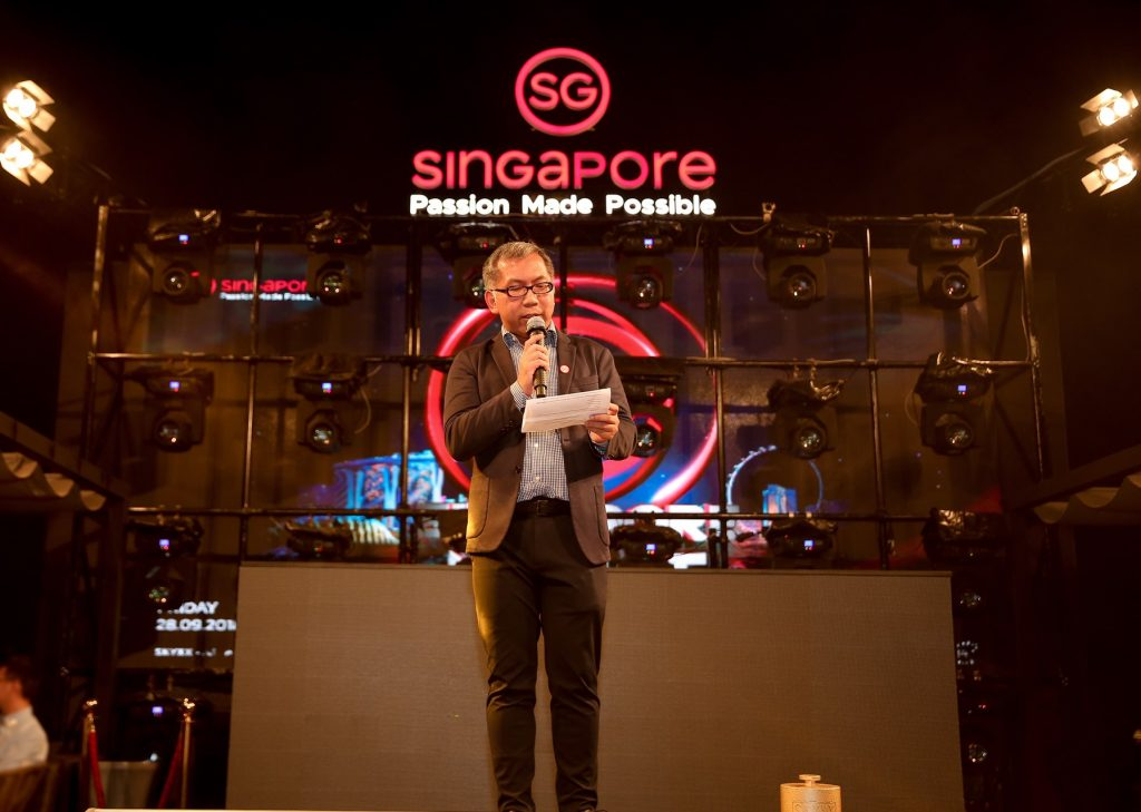 sự kiện Singapore night 10