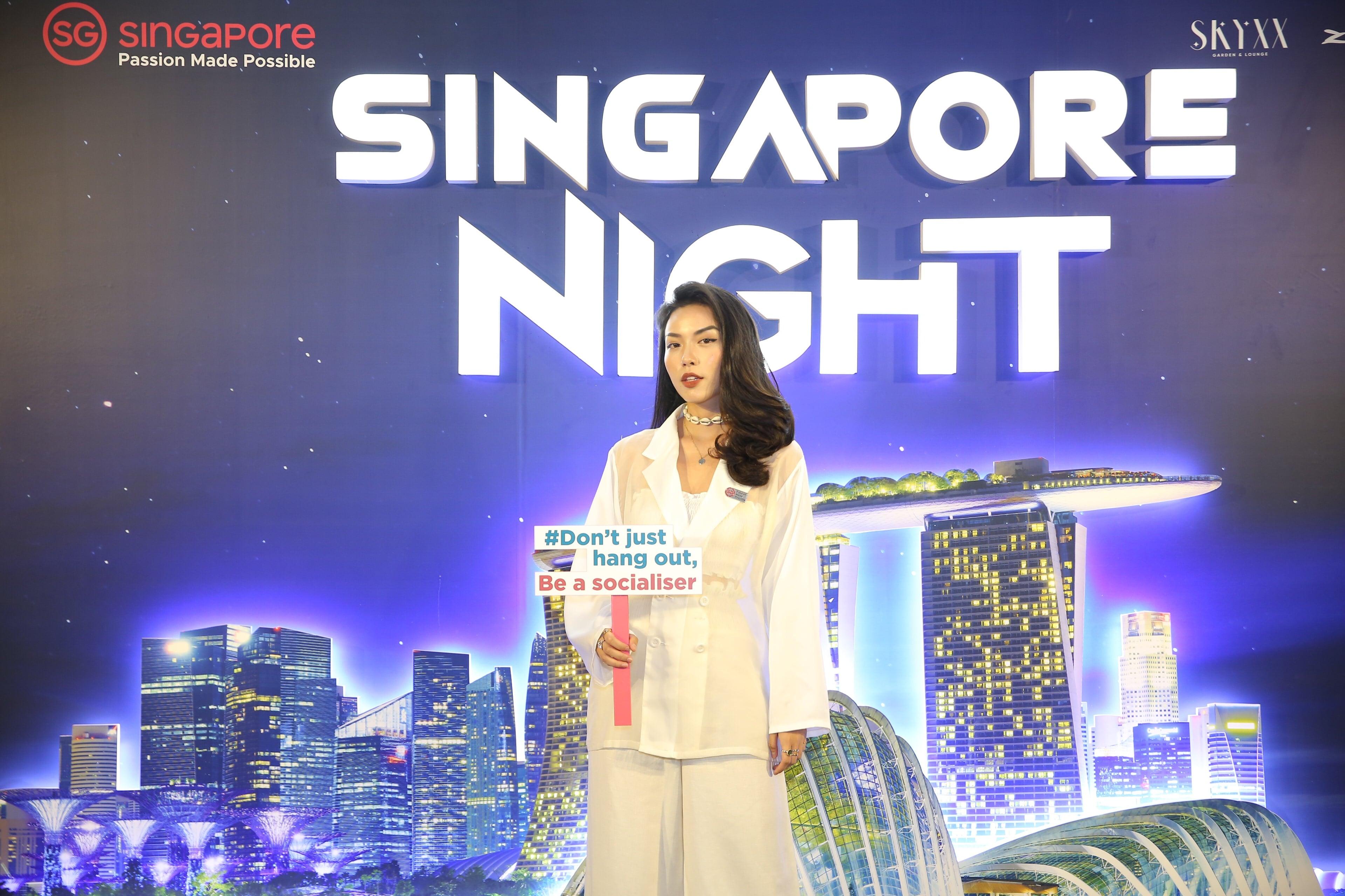 sự kiện Singapore night 4
