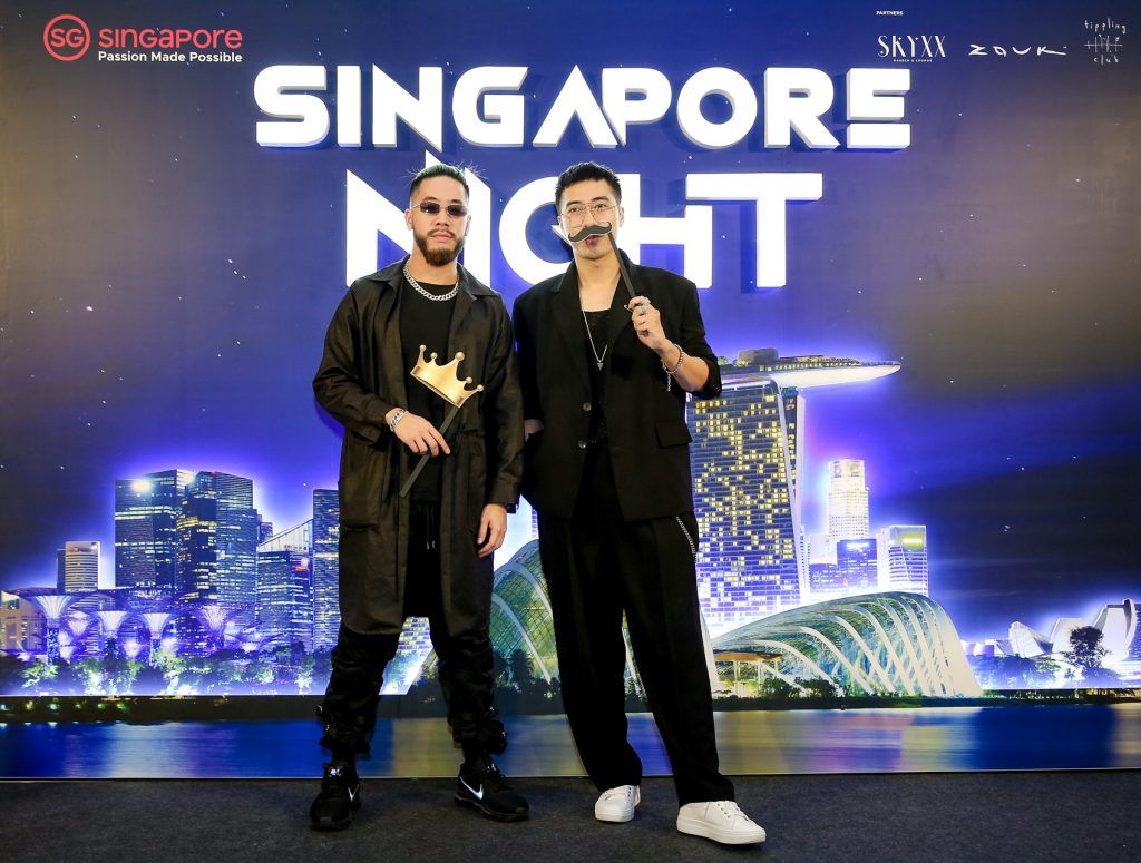 sự kiện Singapore night 6