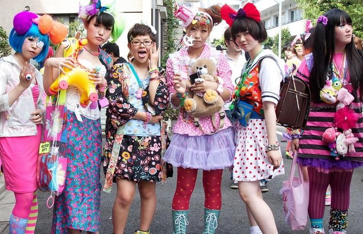 thời trang Harajuku