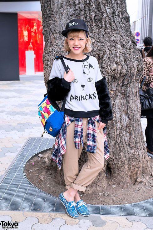Wamono - Phong cách kết hợp giữa trang phục truyền thống của Nhật Bản với thời trang phương Tây. (Ảnh: tokyofashion.com)<br/>thời trang Harajuku 7