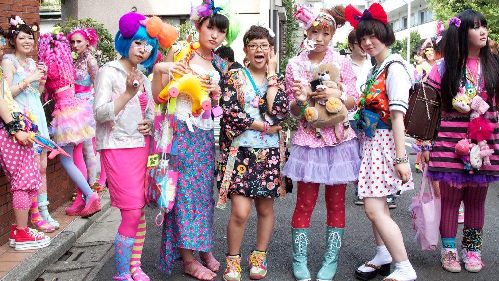 thời trang Harajuku 9