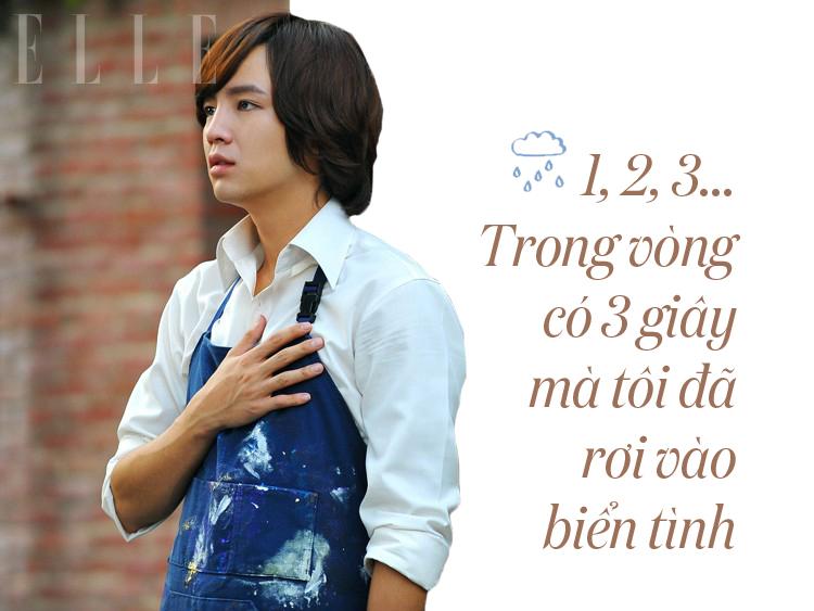 câu nói hay trong phim love rain 9