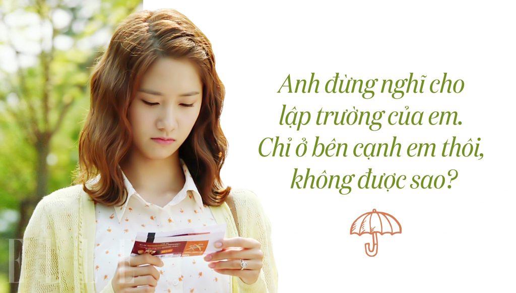 câu nói hay trong phim love rain 3