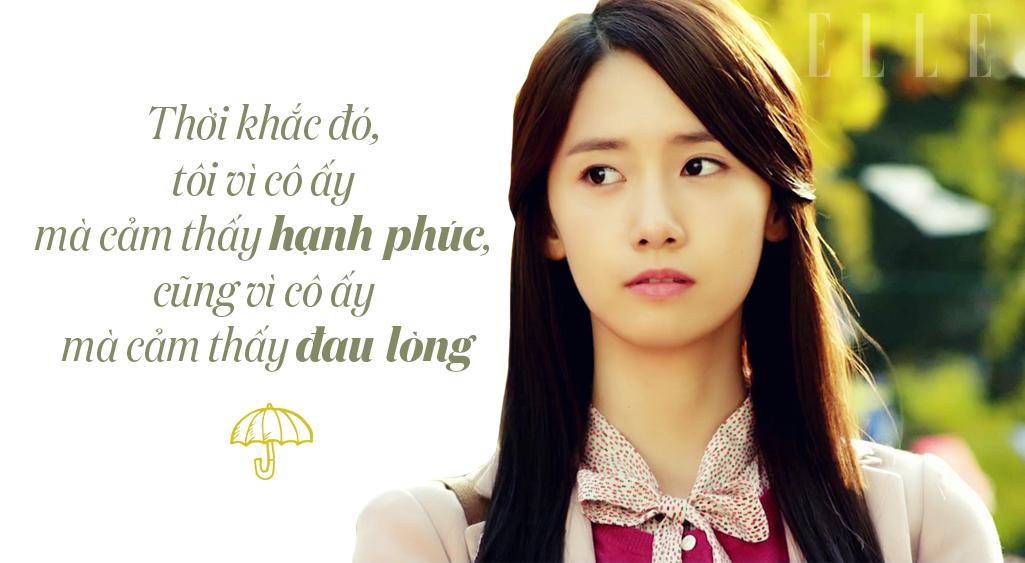 câu nói hay trong phim love rain 5