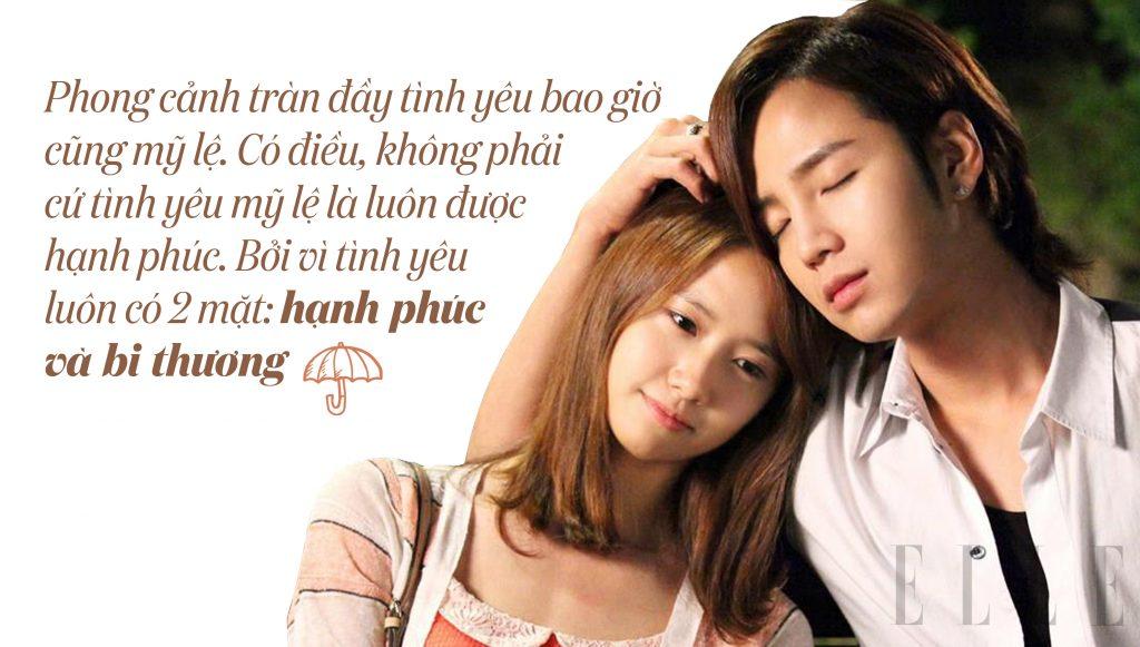 câu nói hay trong phim love rain 8