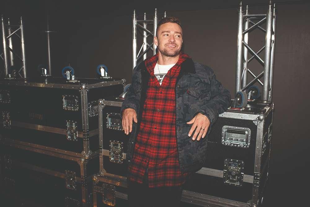 thương hiệu Levi's kết hợp cùng Justin Timberlake trong BST Fresh Leaves 4
