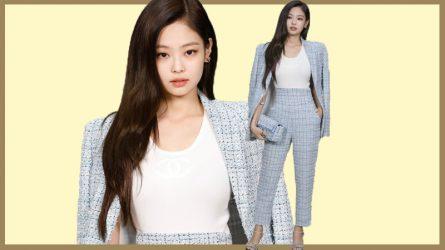 Jennie Kim (BLACK PINK) trả lời phỏng vấn ELLE Việt Nam từ hàng ghế đầu Chanel Xuân - Hè 2019