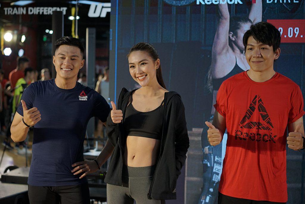 cùng Tường Linh, Lâm Vinh Hải và Kelvin Khánh thử thách hết mình tại sư kiện Reebok Fitness Playground 2018