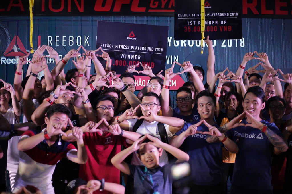 cùng Tường Linh, Lâm Vinh Hải và Kelvin Khánh thử thách hết mình tại sư kiện Reebok Fitness Playground 2018 4