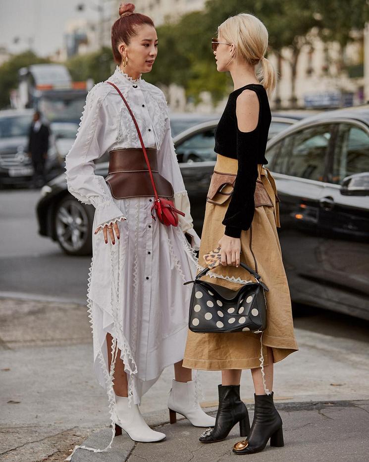 street style tuần lêc thời trang paris 13