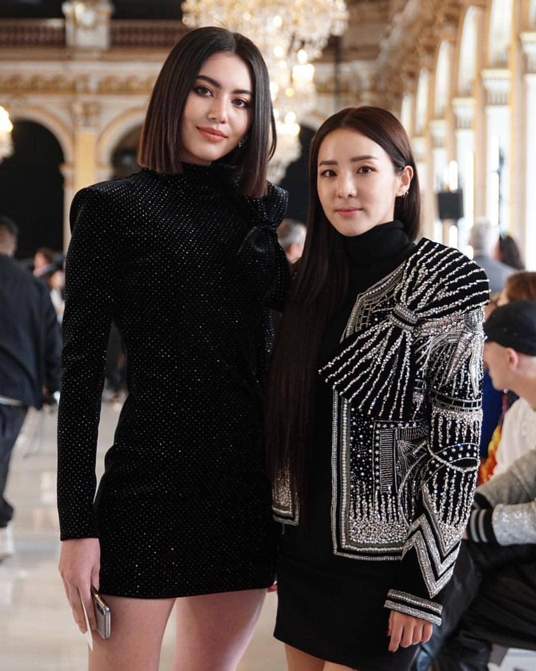 sao quốc tế tại tuần lễ thời trang paris 2019 11