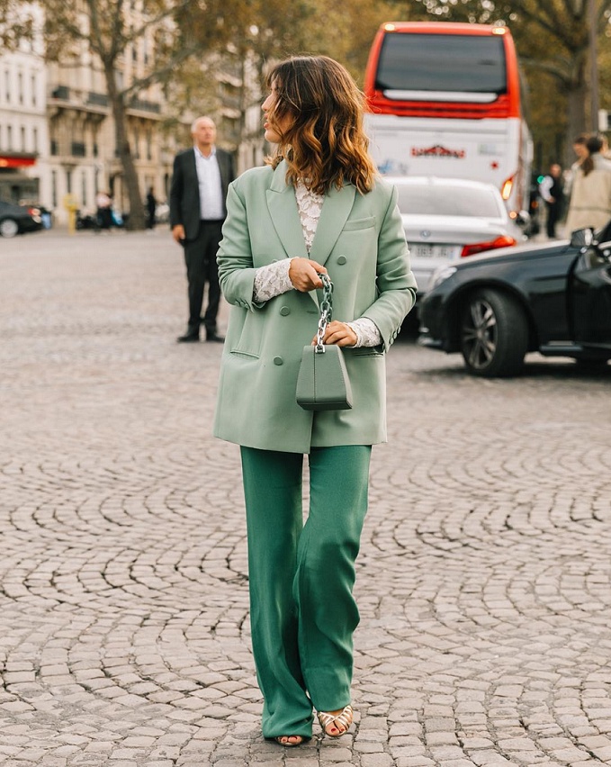 street style tuần lễ thời trang paris 2