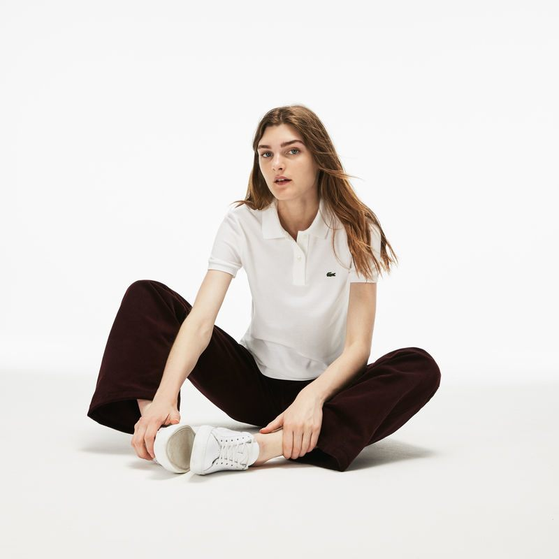 NTK Hedi Slimane - Thiết kế áo polo Lacoste