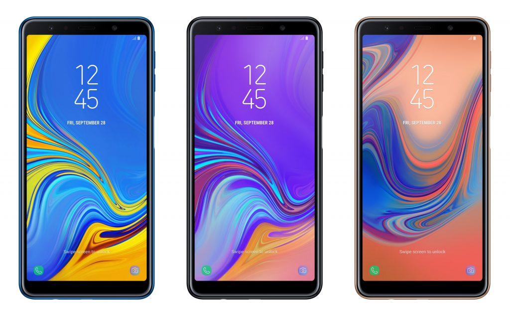 Samsung chính thức ra mắt Galaxy A7 tại Việt Nam: Bộ 3 camera độc nhất, góc rộng chuẩn mắt nhìn