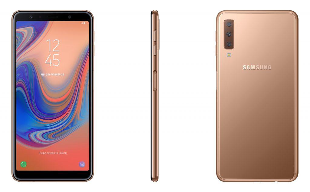 Samsung chính thức ra mắt Galaxy A7 tại Việt Nam: Bộ 3 camera độc nhất, góc rộng chuẩn mắt nhìn 4