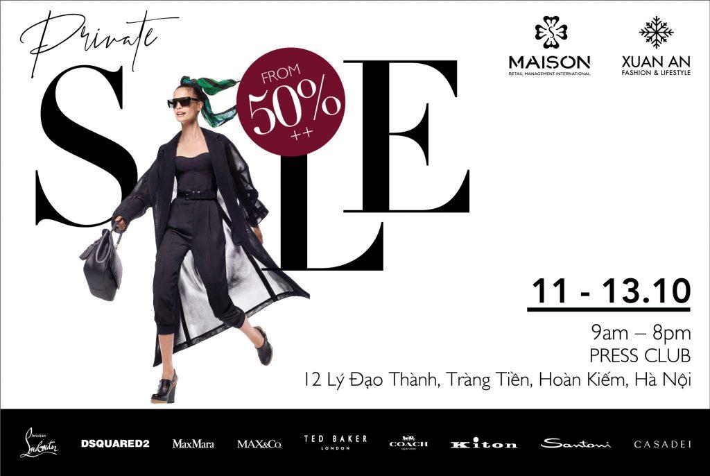 Bùng nổ cuộc săn hàng hiệu tại Hà Nội - Xuân An & Maison Private Sale Up to 50%++