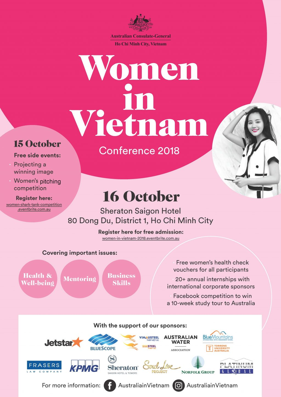 Hội nghị Phụ nữ Việt Nam 2018