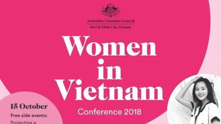 Tổng Lãnh sự quán Úc tổ chức Hội nghị Phụ nữ Việt Nam 2018