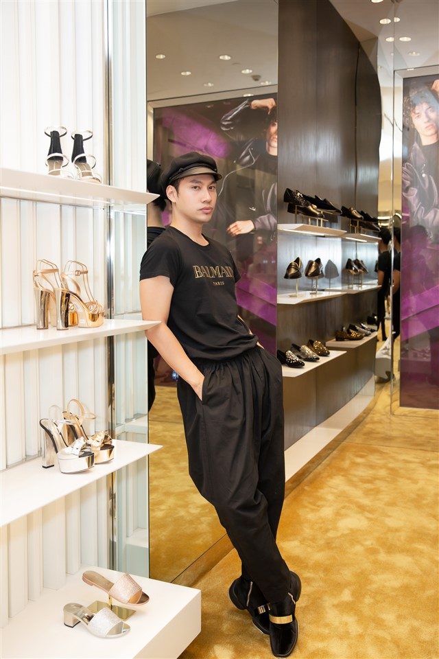 Giuseppe Zanotti event - elle vietnam (7)