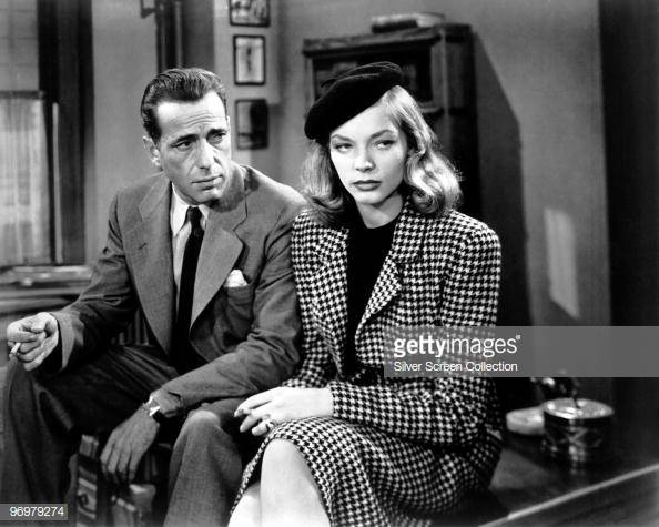 Lauren Bacall và skirt suit trong The Big Sleep