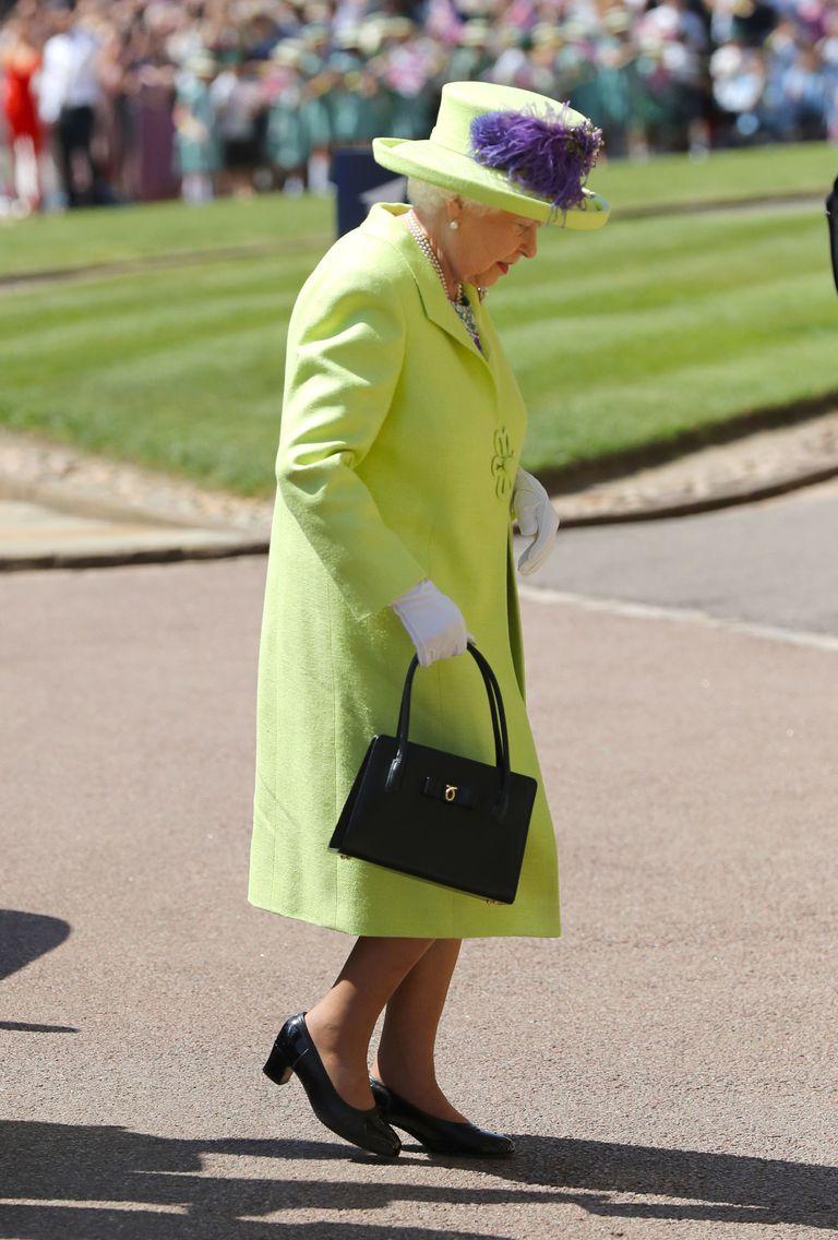 Nữ hoàng Anh Elizabeth II tại đám cưới công chúa Eugenie