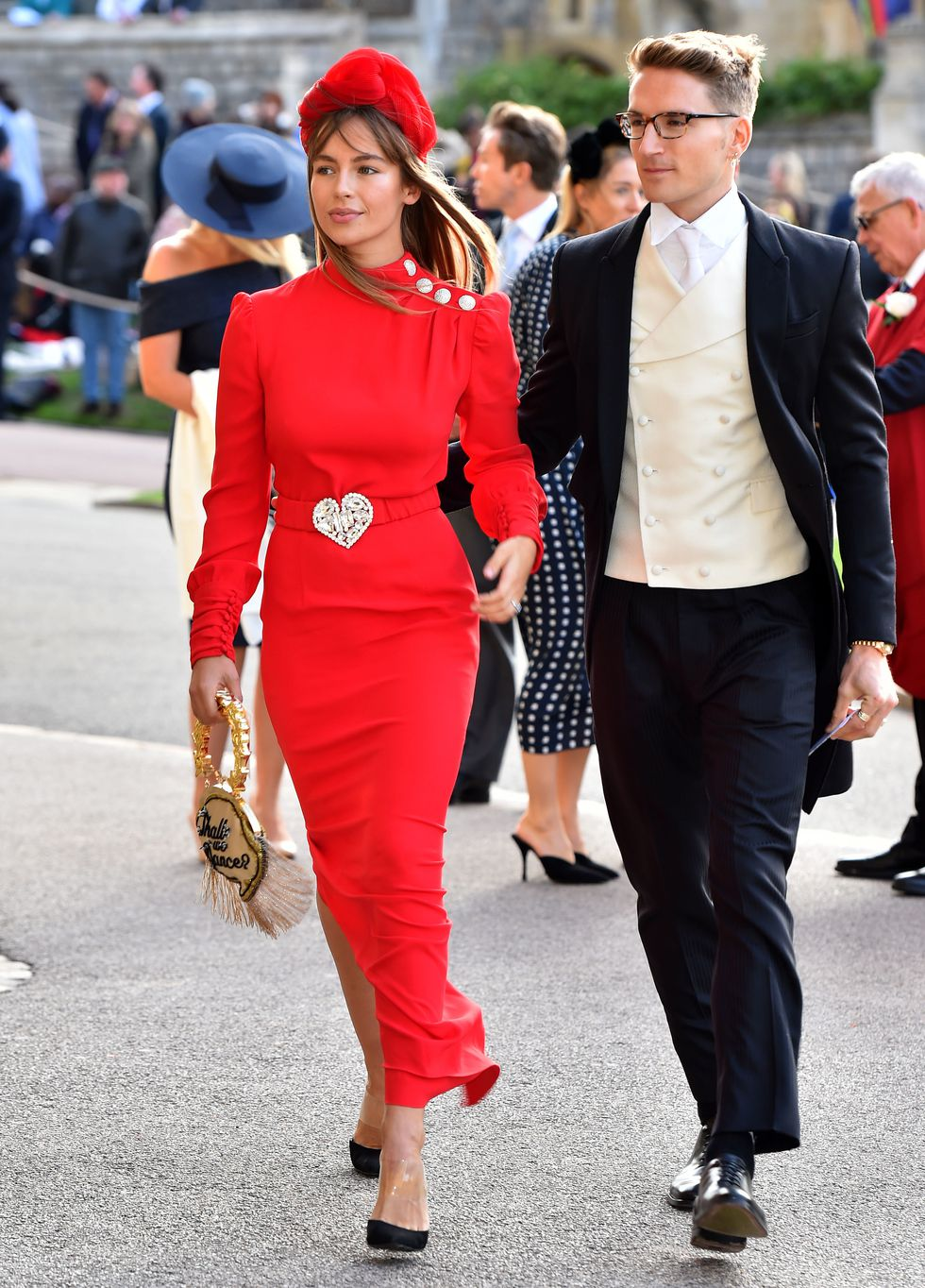 dàn sao đến tham dự đám cưới của công chúa Eugenie 2