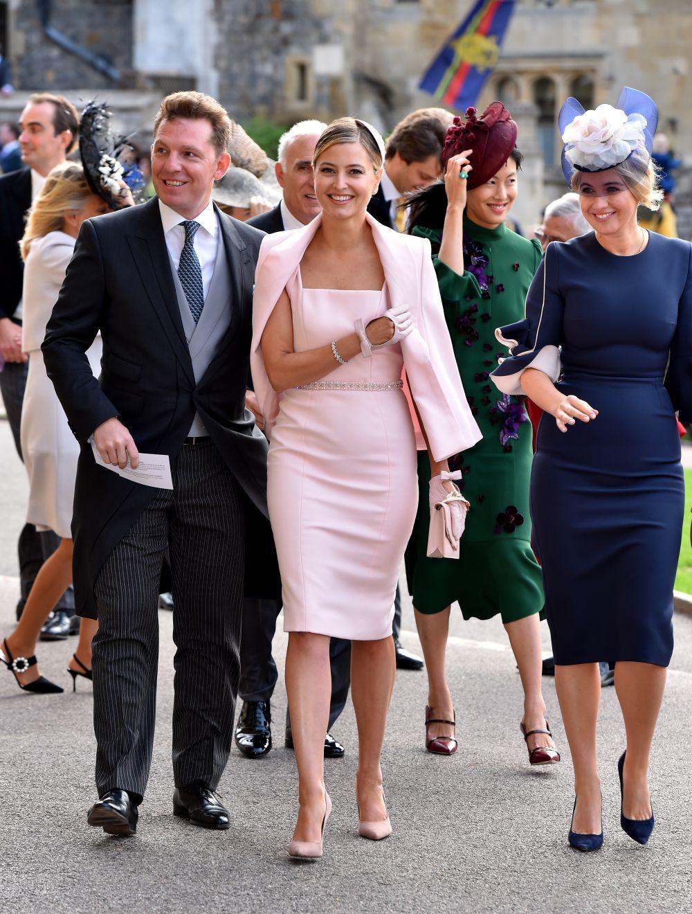dàn sao đến tham dự đám cưới của công chúa Eugenie 3