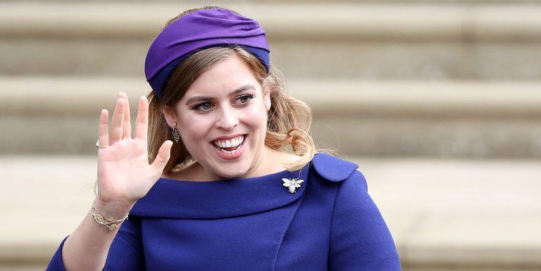 Công chúa Beatrice - đám cưới công chúa Eugenie