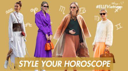 Thời trang cung hoàng đạo tháng 10: Mùa Thiên Bình và những sắc màu phong cách mới