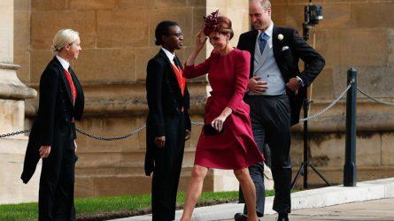 Thời trang đối lập của Nữ hoàng Elizabeth II và Công nương Kate tại đám cưới Công chúa Eugenie