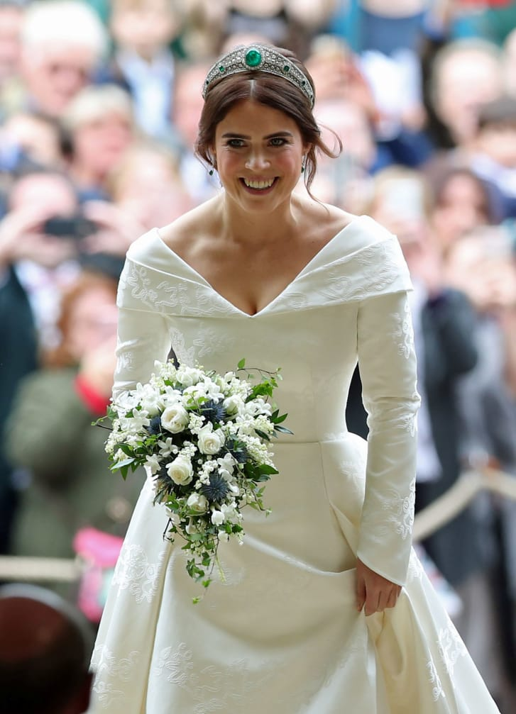 váy cưới của công chúa Eugenie 4