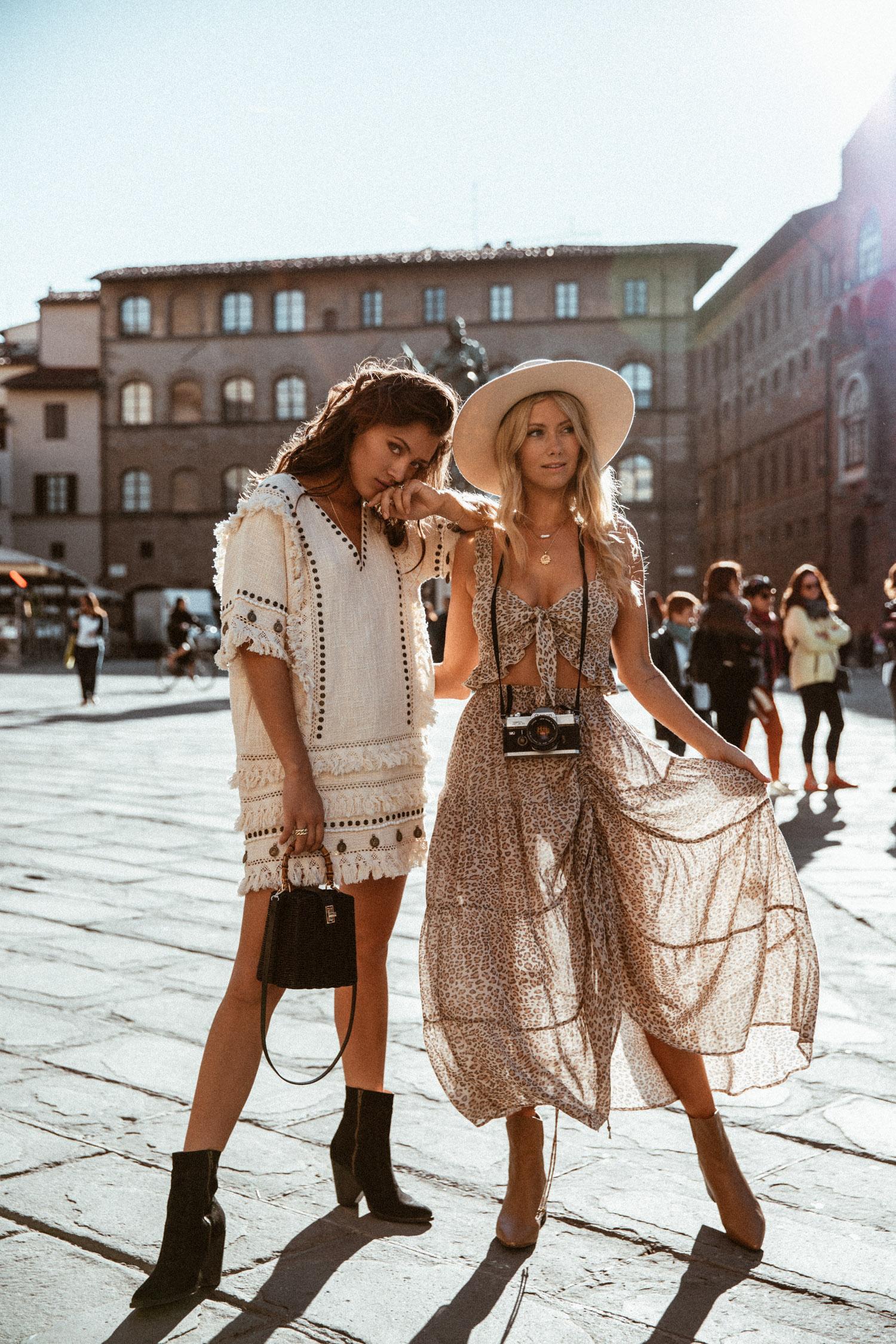 Phong cách thời trang bohemina màu sắc và tự do