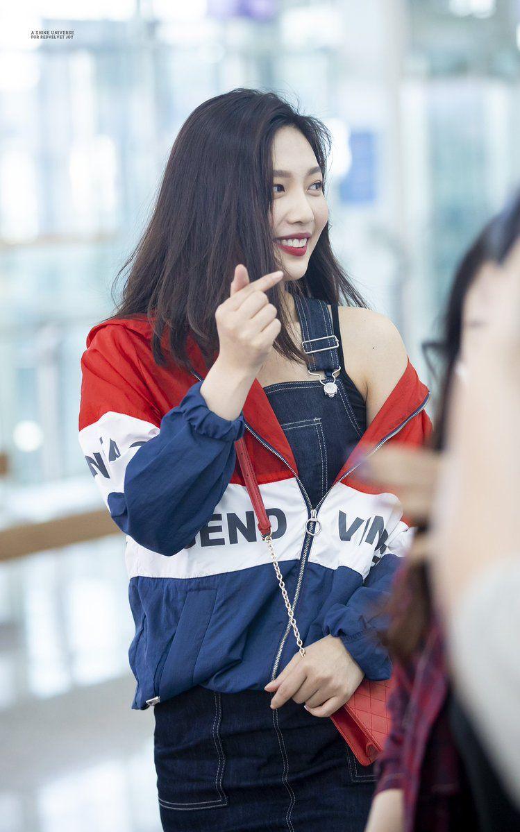 Xu hướng thời trang sân bay sao Hàn mùa Thu 18