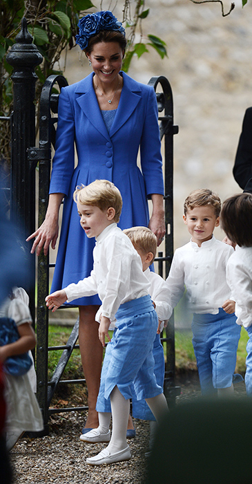 phù rể Hoàng tử George 12