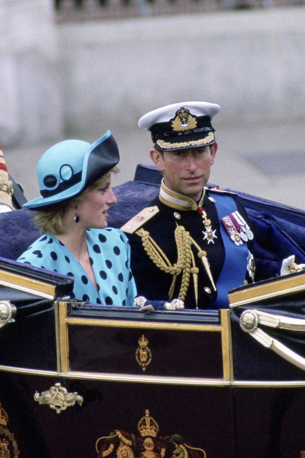 Công nương Diana tháng 7/1986