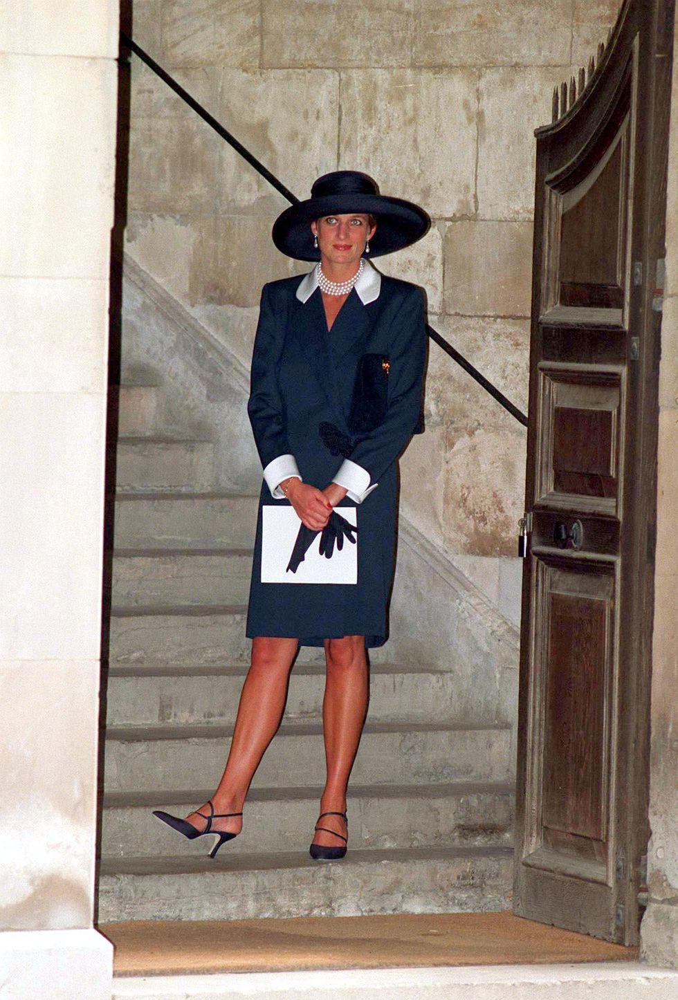 Công nương Diana tháng 7/1994