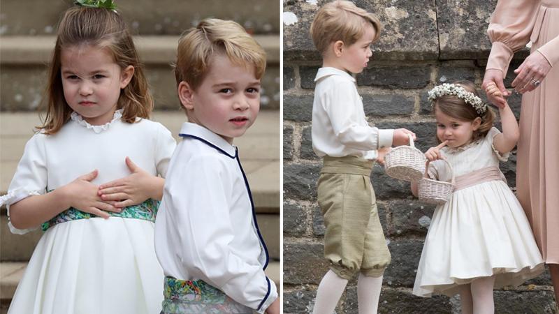 phù rể Hoàng tử George 1
