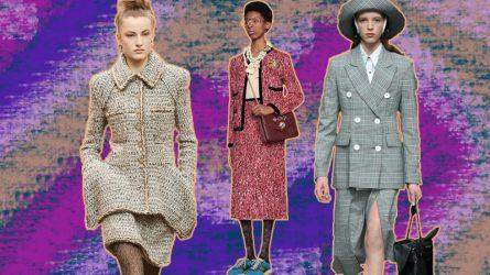Skirt suit - y phục của những người phụ nữ