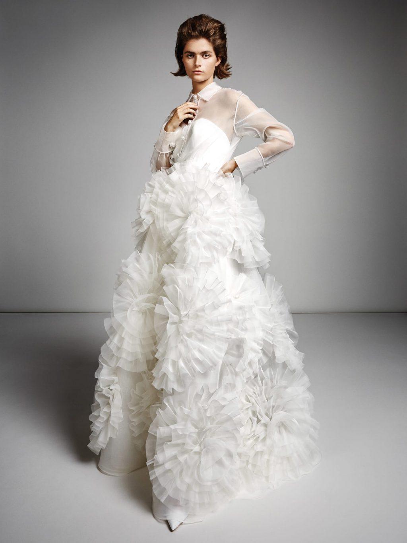 Xu hướng thời trang cưới lấy cảm hứng từ váy cưới của Chiara Ferragni và Meghan Markle 30