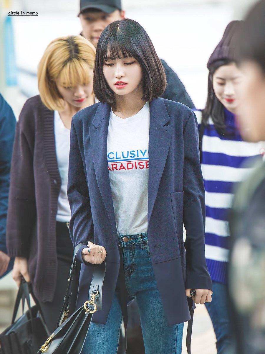 Xu hướng thời trang sân bay sao Hàn mùa Thu 25
