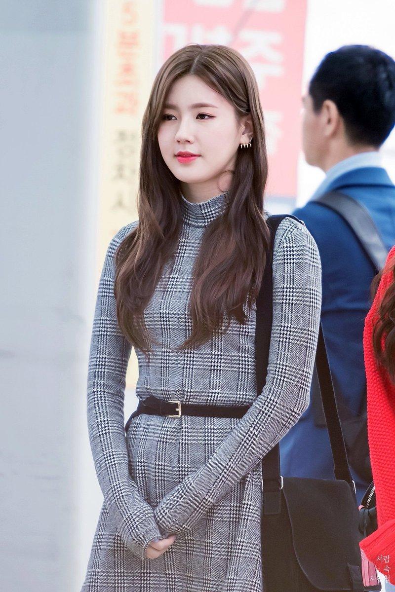 Xu hướng thời trang sân bay sao Hàn mùa Thu 26