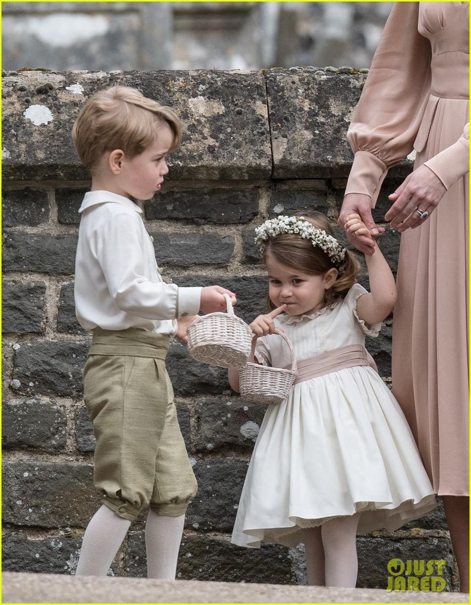 phù rể Hoàng tử George 2