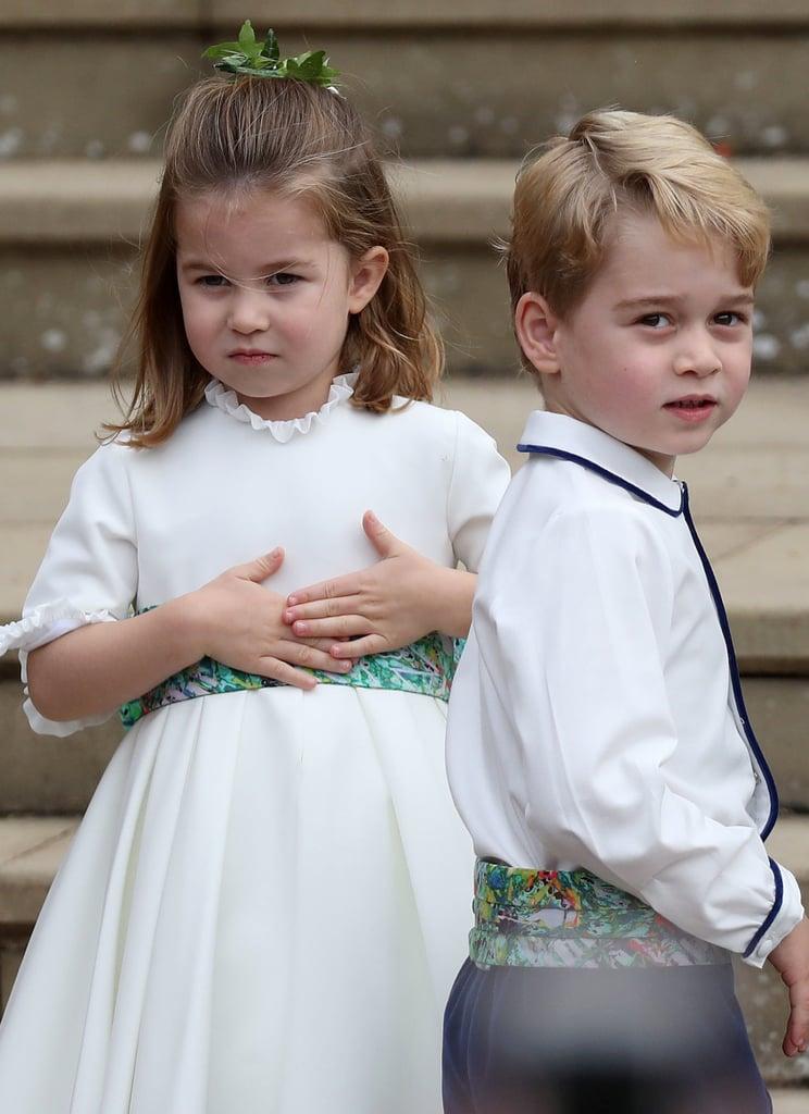 phù rể Hoàng tử George 15