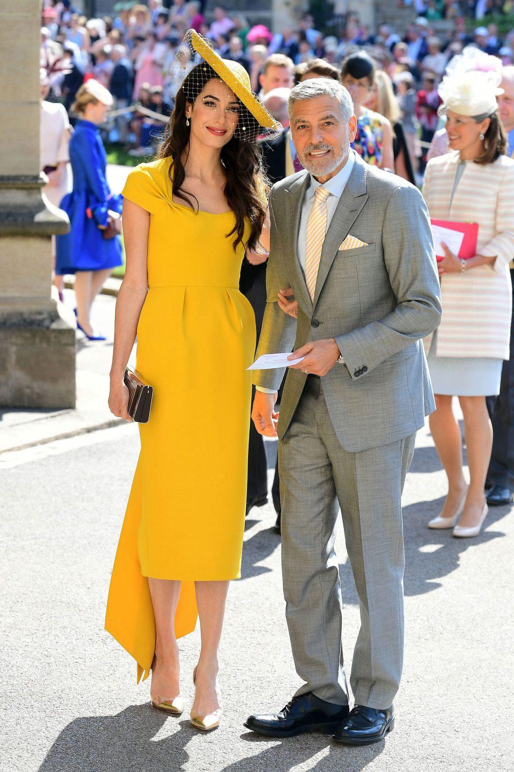 phong cách thời trang cặp đôi Hollywood Amal 01