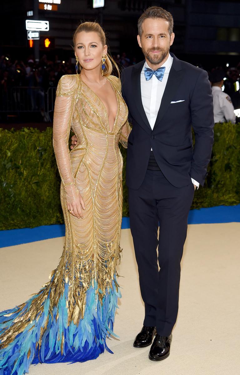 phong cách thời trang cặp đôi Hollywood Blake Lively 01