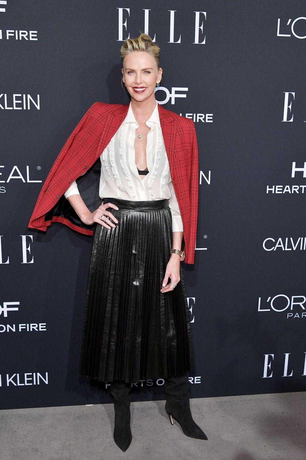 thời trang thảm đỏ ELLE's Women in Hollywood 2